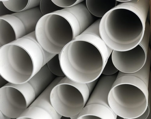 PVC pipes for drain laying in Whangarei